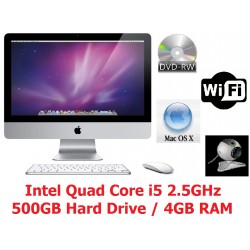 "Apple iMac  21.5"" i5 Quad Core"