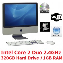 "Apple iMac  20""  Core 2 Duo"